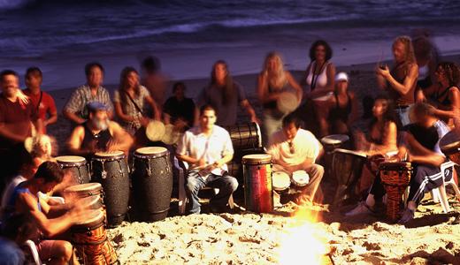 monthly - Drum Circle - Laguna Beach