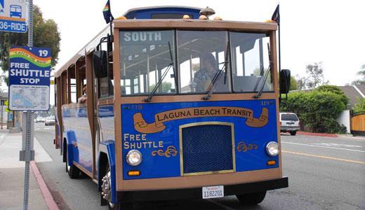 Laguna Beach Free Shuttles