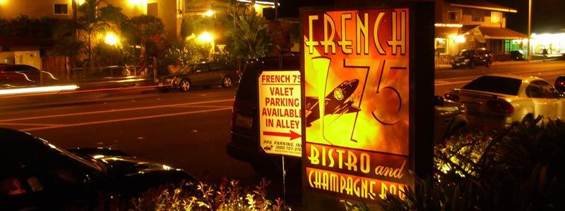 "French 75 Says ""Au Revoir"""