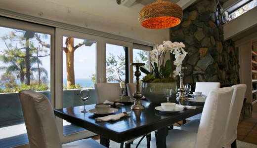 Meredith Baer - dining room - South laguna Beach - Susan Helton Realtor