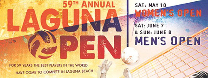 59th Annual Laguna Volleyball Open This Weekend
