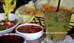 Carmelitas -Cucumber margarita and chips-TA