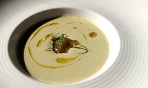 Asparagus soup - Tabu Grill