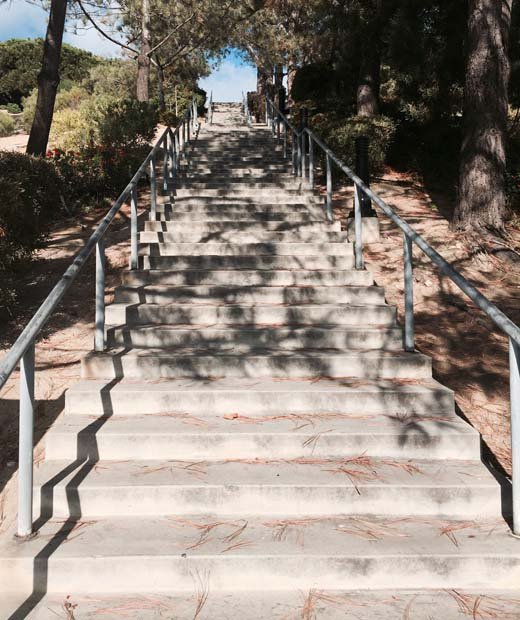 Heritage Park stairs - Dana Point
