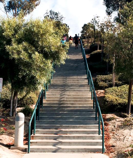 Lantern Park stairs - Dana Point