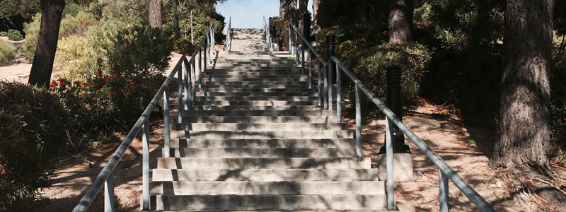 The Best Stair Run Ever – 1,528 Stairs