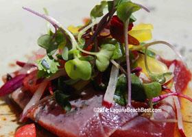 Driftwood-Kitchen-Seared-Tuna-Laguna-Beach