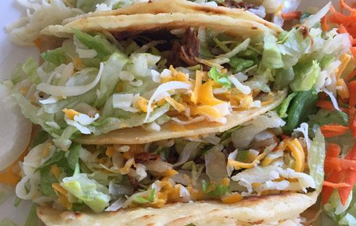 520 Feasts tacos