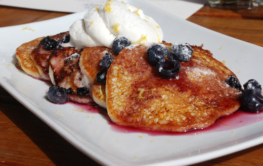 pancakes - Sapphire restaurant