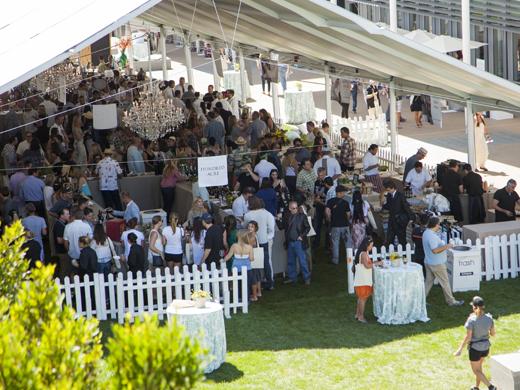 Grand Tasting at Newport Beach Wine & Food Festival