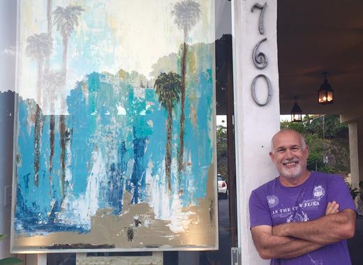 Steve Adam new gallery in Laguna Beach