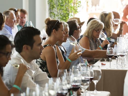 Wine Seminar at Newport Beach Wine & Food Festival