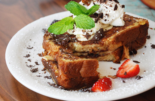 French toast at urth caffe