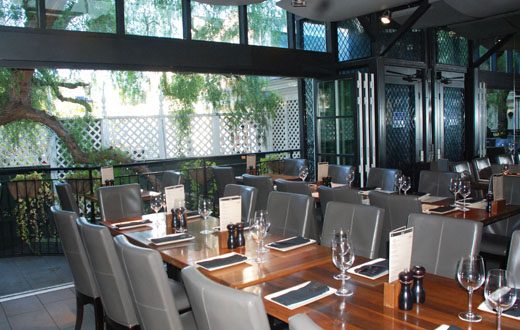 upstairs dining - Watermarc Restaurant