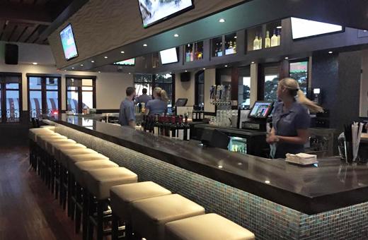 inside bar Skyloft Restaurant Laguna Beach