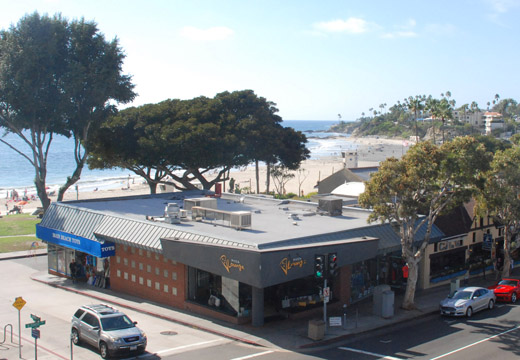 view from roof  - Skyloft-restaurant-Laguna-Beach