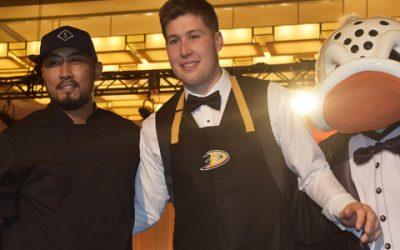 Laguna Chefs Score for Anaheim Ducks Foundation at Dux In Tux