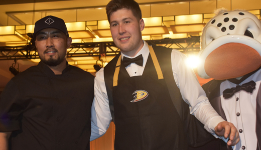 Laguna Chefs Score for Anaheim Ducks Foundation at Dux In Tux