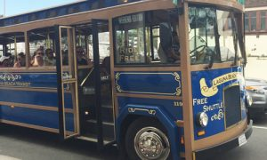 Laguna Beach free trolley map 2017