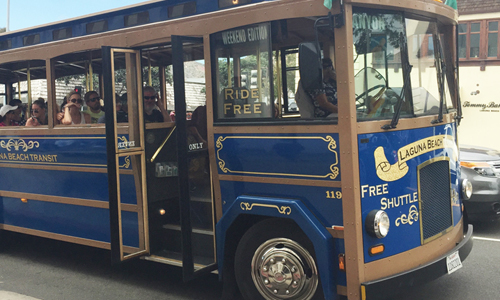 Laguna Beach Free Trolley Service Expands for Holidays