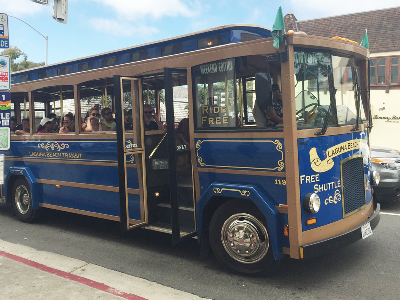 New Trolley Schedule Post Labor Day