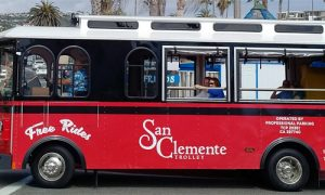 San Clemente trolley map 2017