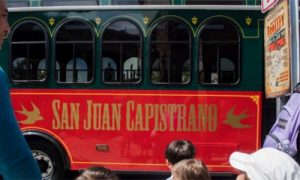 San Juan Capistrano Trolley Map