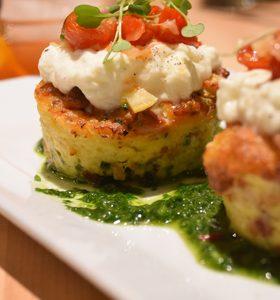 burrata cheese-Hendrix restaurant Laguna Niguel