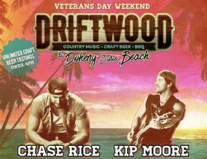 Driftwood Country Music Fest 2017 @ Dohey State Beach, Dana Point