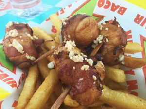 Bacon cheese bombs-OC Fair