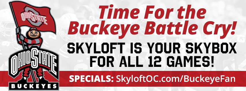 2017 Football Season, Skyloft is Ohio State Buckeyes' Skybox