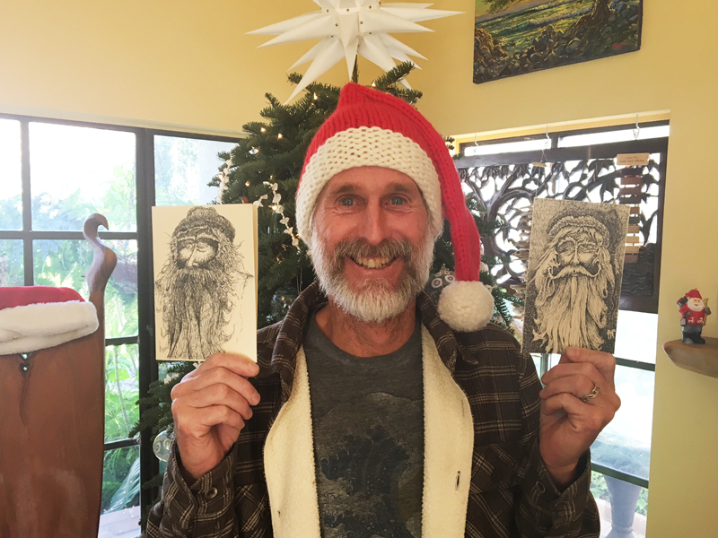 Kaj's Great Santa Holiday Cards are Back!