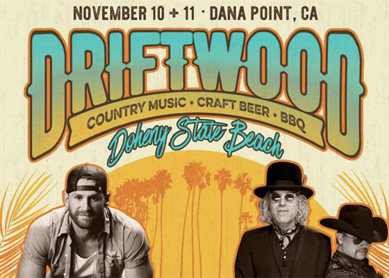 Just Announced: Doheny's Driftwood Fest Featuring Chase Rice, Big & Rich