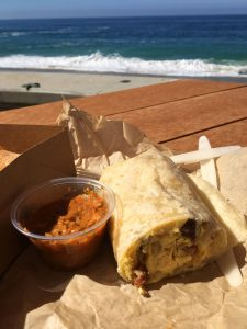 Lost Pier breakfast burrito laguna beach