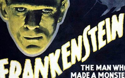 Karloff's Frankenstein movie is bigger than life on big screen