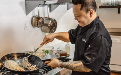 This Week's OC Chef's Table Interviews – Celebrity Chef Jet Tila, Rose Café, Farmhouse, Filomena's