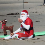 Surfing Santa Makes First Official Holiday Stop This Weekend