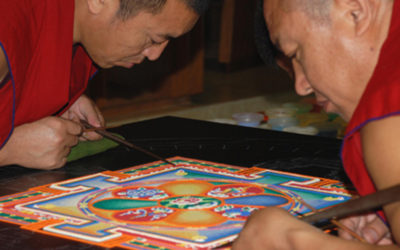Tibetan Monks Returning to Laguna for New Mandala Creation