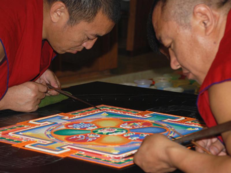 Tibetan Monks Returning to Laguna for New Mandala Creation