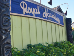 Royal Hawaiian facade-chef maro molteni