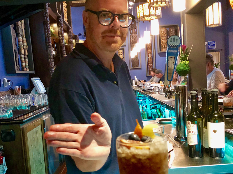 """12 Days of Christmas Cocktails"" at Royal Hawaiian"