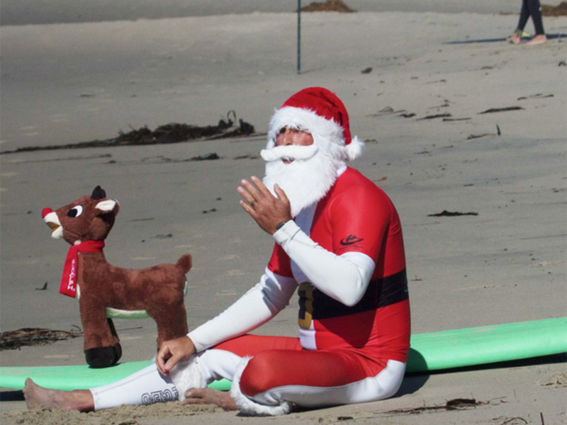 Annual Surfing Santa Starts Holiday Events With Heart – Nov 23-24, 2019