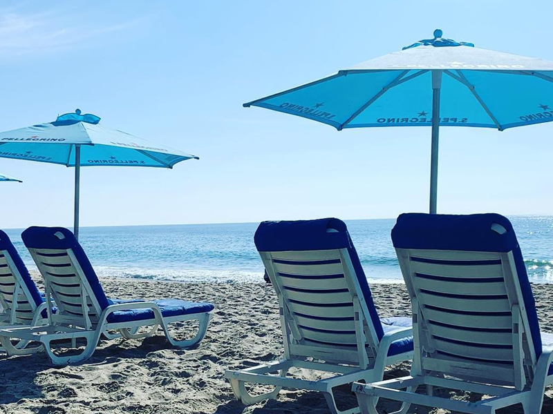 Beach Club at Main Beach has reopened behind Hotel Laguna