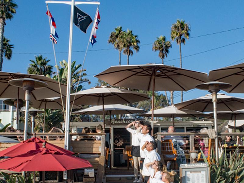 Beachcomber Cafe Raises the Flag for Fun Dining